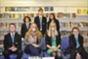 Newton Abbot College students are 'dummies for the day' to help...