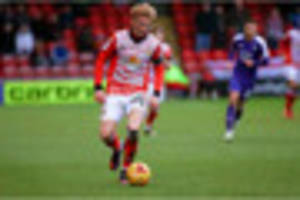 crewe alexandra: charlie kirk plays himself back into the boss's...