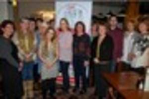 Carmarthenshire charity benefits from ladies having a ball