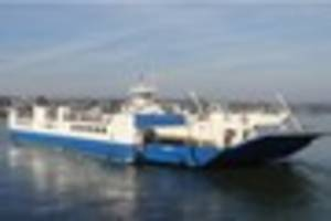 torpoint ferry out of action afetr storm doris damaged chain link