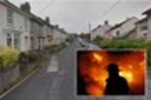 Brave Wadebridge neighbour tries to rescue woman from burning...