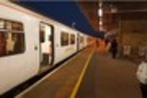 greater anglia trains at brentwood hit by delays after passenger...