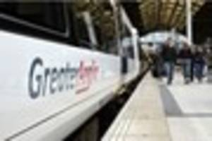 greater anglia trains to london disrupted after plastic is caught...