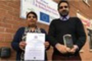 princess street education centre in burton scoops queen's award