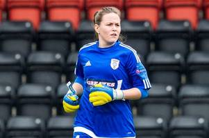 glasgow city keeper targets place at european championships after scotland call-up