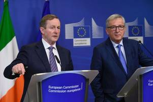 irish prime minister demands special clause for northern ireland to rejoin eu as part of uk's brexit deal