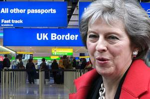 Net migration drops to two year low amid Brexit referendum fall out