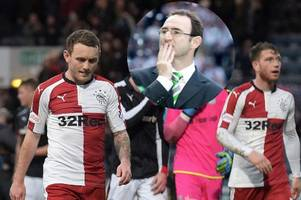this is worst rangers side i've ever seen insists legendary celtic manager martin o'neill