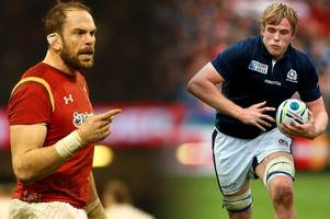 the huge lions selection battle at the heart of scotland v wales that is warren gatland's biggest headache