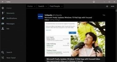 Windows 10 Users Getting Tabs in Twitter App, iOS and Android Left Behind