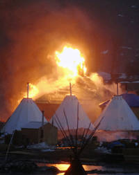 dakota access protesters given last chance to leave without arrest