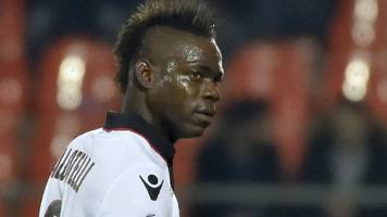mario balotelli: bastia punished after fans racially abuse nice striker