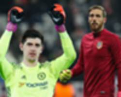 jan oblak is chelsea's back-up plan, if they lose courtois to real madrid