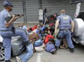 Violent clashes between South Africans and immigrants
