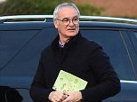 claudio ranieri was fired by leicester at airport hotel
