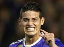 Real Madrid transfer news: James Rodriguez happy to stay