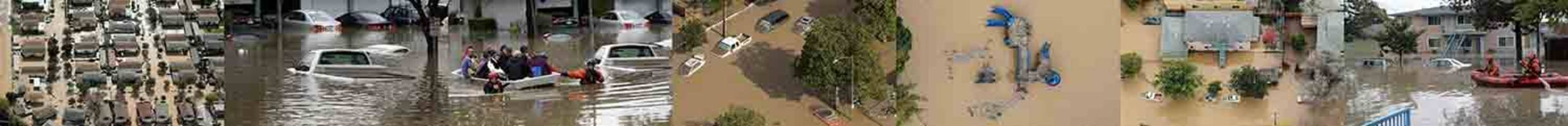 dramatic drone footage shows extent of san jose flooding
