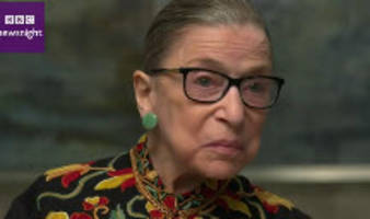 ruth bader ginsburg: not the best of times for america, i read wapo and nyt every day