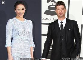 Paula Patton Says Robin Thicke Took DCFS Worker for an 'Expensive Sushi Dinner'