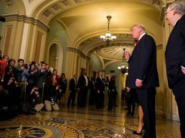 most americans trust the media over president trump: poll