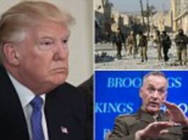 Trump vows to 'obliterate ISIS' as he awaits new ISIS plan