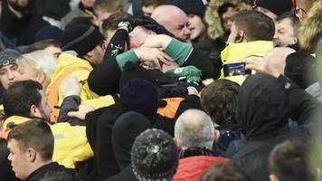 Champions League: Celtic fined over crowd disturbances at Man City game