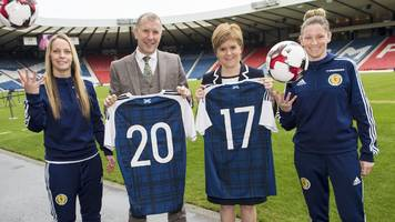 Scotland women all full-time ahead of Euro 2017 finals