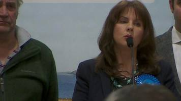 Copeland by-election speech from Conservative Trudy Harrison