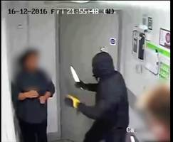 Knifepoint robbery in Brighton Co-op captured on CCTV