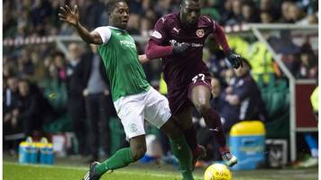 racist twitter post to hibs player marvin bartley probed