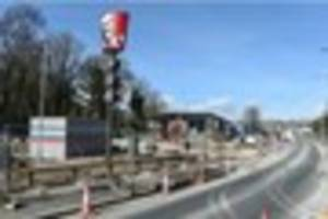 giant kfc 'bucket sign' appears in st budeaux ahead of drive-thru...