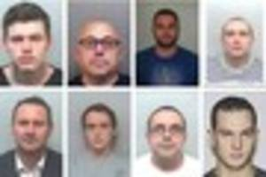 these eight men flooded plymouth with £500,000 of cannabis