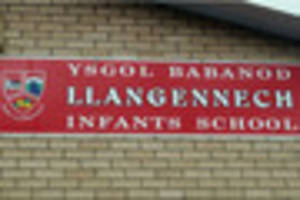 tyre slashing in llangennech was not linked to 'toxic' school...