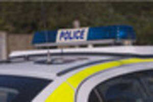 Two men arrested after police patrol stop and search stolen car