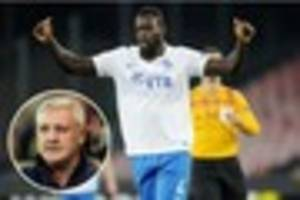 aston villa: steve bruce on ex-blackburn skipper chris samba;...