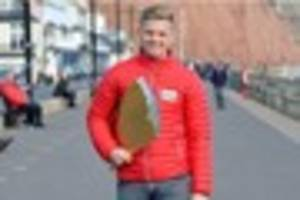 jeff brazier enjoys the sights of sidmouth ahead of £3m...