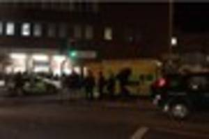 Woman hospitalised after collision outside Shenfield Station