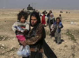 mosul offensive: iraqi forces begin attack on city's west