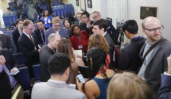 White House Blocks News Organizations Critical of Trump From Press Briefing