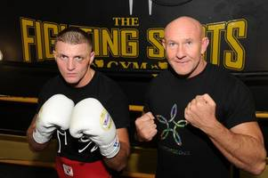 hamilton boxer kevin duris is up for title eliminator at fighting scots' fight club next weekend