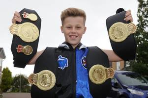 Hamilton kickboxing ace Brandon Murray to tackle first title fight after moving up a weight