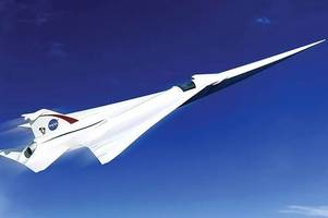 nasa wind tests 'the new concorde' as space agency aims to launch revolutionary supersonic passenger jet in 2020