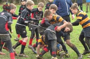 Stewartry Sharks enjoy a successful day's rugby at Moffat