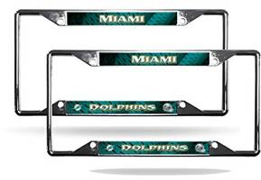 Top Best 5 miami dolphins license plate frame for sale 2017