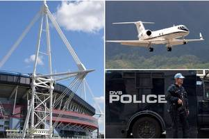 intense security, private planes and a cruise ship - this is the huge impact the champions league final will have on cardiff