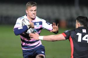 edinburgh 17-18 cardiff blues: gutsy victory for danny wilson's side maintains top six credentials