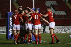 scotland u20s 34 - wales u20s 65: wales run in eight tries to seal exhilarating victory