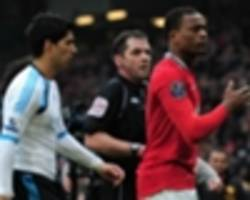'we don't have any problem' - evra says he is 'good' with suarez