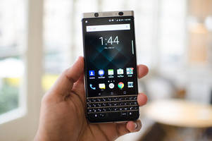 BlackBerry's $550 KeyOne targets physical keyboard lovers: Our first take