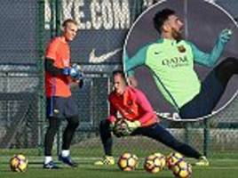barcelona complete preparations ahead atletico madrid game